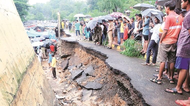 mumbai wall collapse, malad wall collapse, wall collapse in malad, malad wall collapse death toll, death toll in malad wall collapse, mumbai monsoon, mumbai news, Indian Express