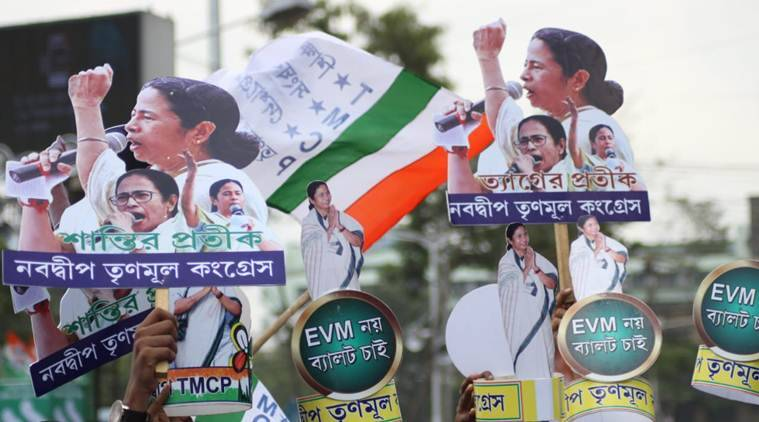 tmc martyrs day rally, tmc rally, matryrs day rally, mamata banerjee rally, kolkata rally, mamata banerjee martyrs day, mamata banerjee on bjp, indian express