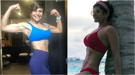 Mandira Bedi fitness