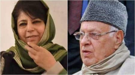 Mehbooba Mufti, Farooq Abdullah, article 35 A, Jammu and Kashmir, j&k status, amit shah, latest news, indian express