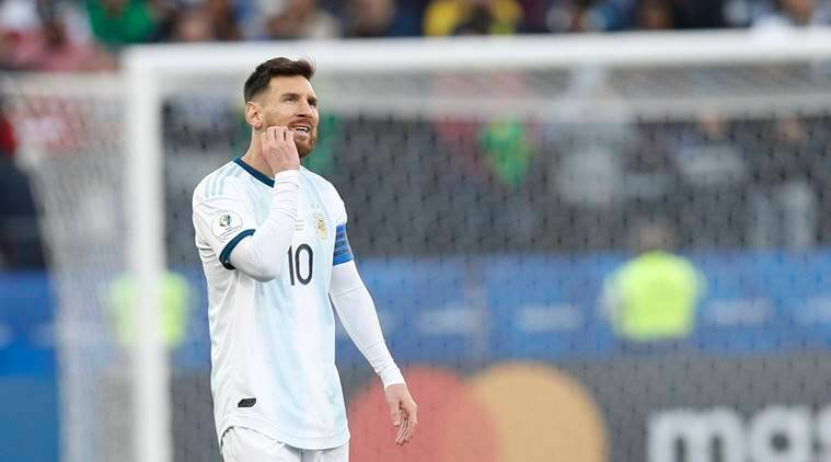 Lionel Messi, Argentine, Copa America, Messi apologise, Messi harsh comments, Messi mistake, football news, sports news, indian express
