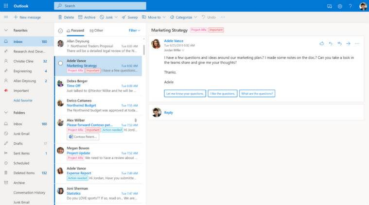 Microsoft, Outlook, Outlook.com, Outlook redesign, how to use Outlook