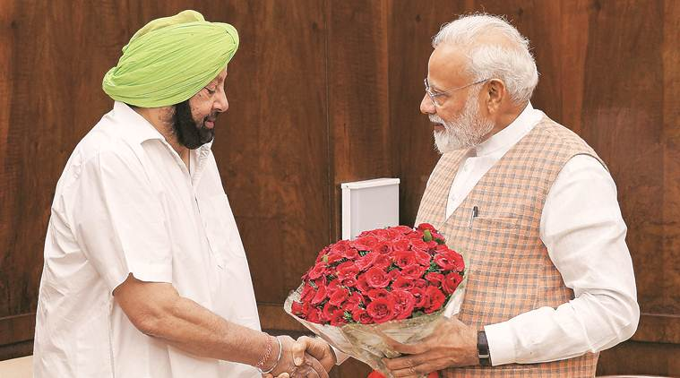Convene all-party meet under PM's chairmanship to tackle water crisis: Amarinder Singh