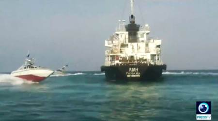Panama to withdraw flag from tanker towed to Iran, cites violations