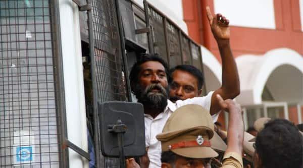 Mugilan, Activist Mugilan, Sand mining, Kudankulam Nuclear Power Plant, Sterlite, Thoothukudi, Tamil Nadu News, Chennai news, Indian Express News