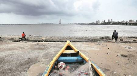 mumbai, mumbai rain, rain in mumbai, monsoon, mumbai monsoon, imd rain forecast, heavy rain, thane, met department, weather forecast, mumbai weather forecast, palghar, maharashtra news, indian express news