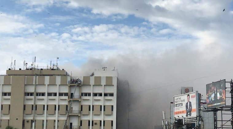 mumbai, mumbai fire, mtnl, mtnl building fire, mtnl building fire news, mtnl building fire today, mtnl bandra office fire, mumbai mtnl bandra fire, mtnl building fire, mumbai fire news, mtnl office fire news, fire news