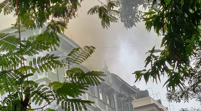 54-year-old killed in fire in Mumbai building