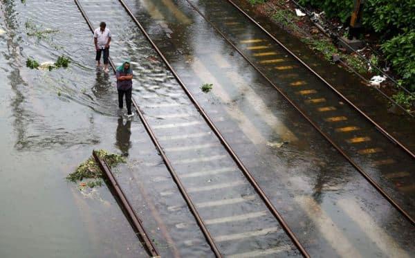 Pune rains, central railway tracks damaged