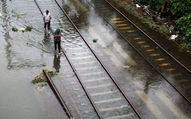 Pune rains, central railway tracks damaged