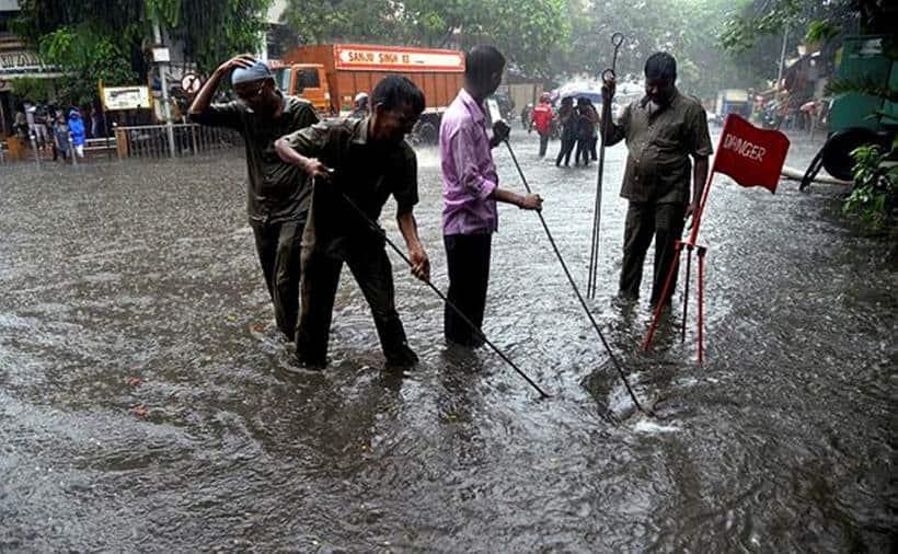 Mumbai Rains Heavy Waterlogging Brings City To Halt
