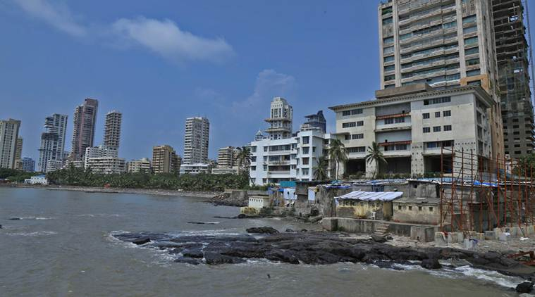 Part of seashore in South Mumbai to become govt land