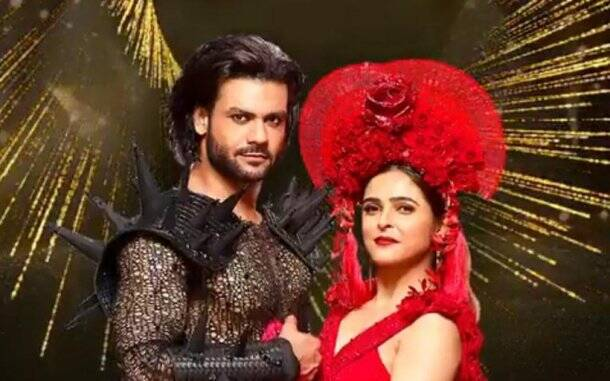 Madhurima Tuli and Vishal Aditya Singh on Nach Baliye 9