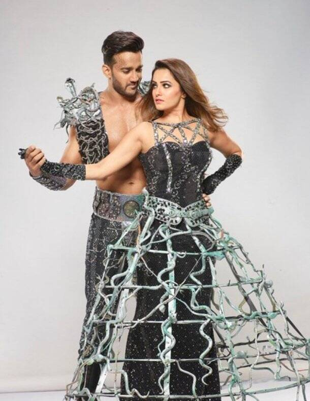 anita hassanandani and rohit reddy on nach baliye