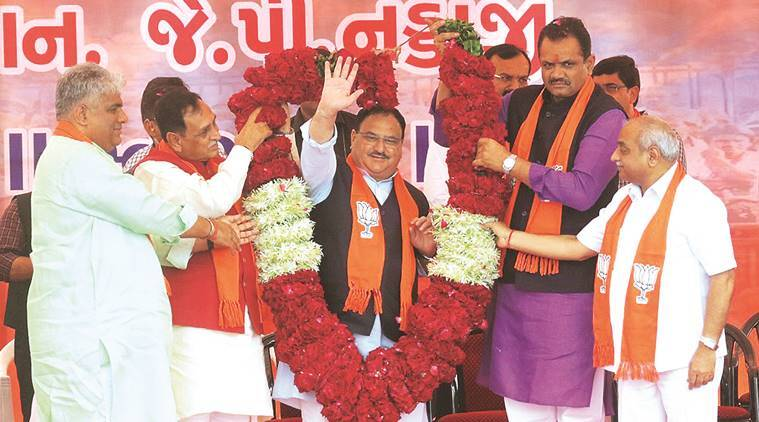 'Entire country looks at Gujarat as role model': JP Nadda on first visit to Ahmedabad as BJP national president