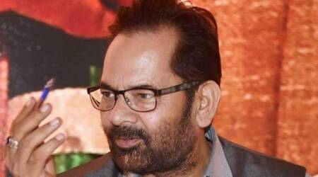 mukhtar abbas naqvi, p chidambaram inx media case, p chidambaram arrest inx media case, CBI chidambaram remand plea, congress supports p chidambaram
