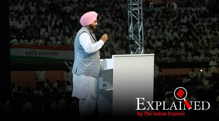Explained: Why has Navjot Singh Sidhu resigned from Punjab Cabinet