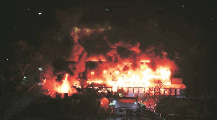 pune fire, pune chemical lab fire, ncl lab fire, ncl lab fire 2017, ncl lab fire pune, pune fire cause unclear, investigation, maharashtra news, indian express news