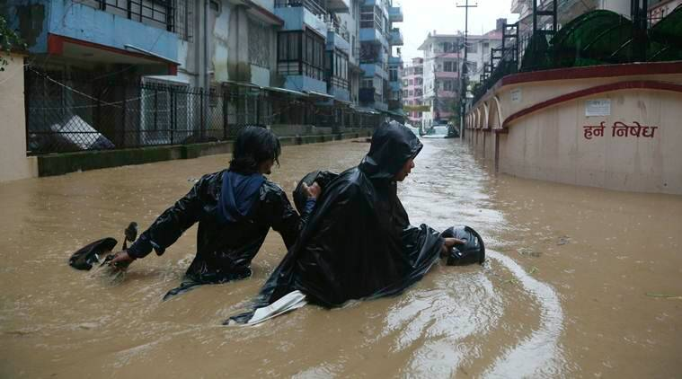 Nepal appeals to international agencies for help in flood-hit areas; toll rises to 67 - The Indian Express thumbnail