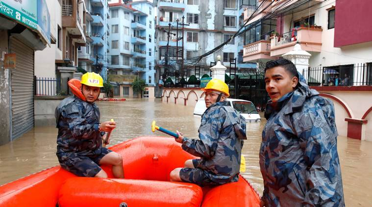 nepal floods, Kathmandu floods, floods in nepal, nepal floods toll, nepal rains, nepal news,