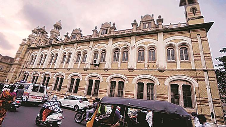 Seat of apex court of the erstwhile royal state of Baroda, Nyaymandir now faces neglect