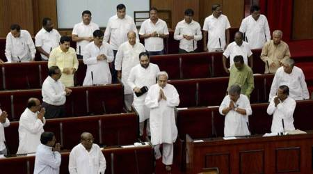 Oppn walkout in Odisha House over boundary dispute with AP