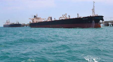 The tensions in the Gulf also pushed oil prices slightly higher.