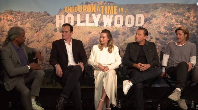 Once Upon a Time in Hollywood cast interview