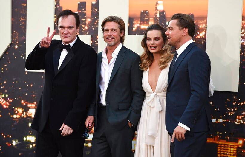 cast for once upon a time in hollywood