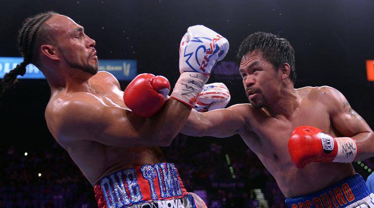 Manny Pacquiao beats Keith Thurman on split decision