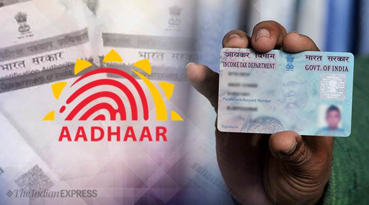 Aadhar, Aadhar link, aadhar uan link, aadhar uan number, Provident Fund, Pension, Aadhar Universal Account Number linkage, Universal Account Number, uan number, Articles 300A, Indian Express news