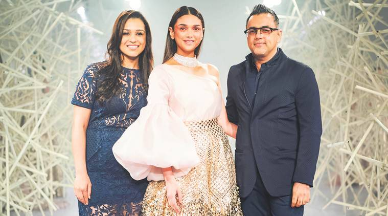 Designer Duo Pankaj And Nidhi On Making Their Debut At The India Couture Week Lifestyle News The Indian Express