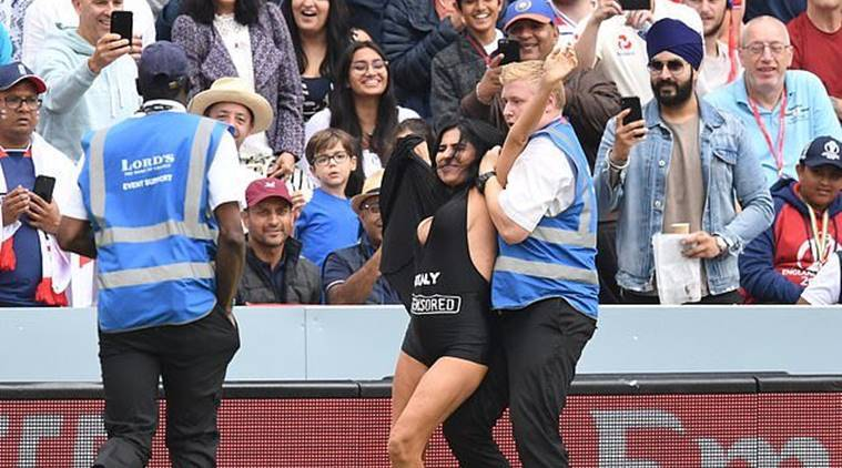 World Cup 2019: Streaker attempts pitch invasion in ENG vs NZ final