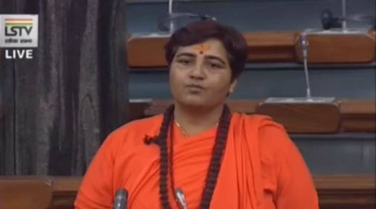 In first Parliament speech, Pragya Thakur highlights lack of medical facilities in Bhopal prison