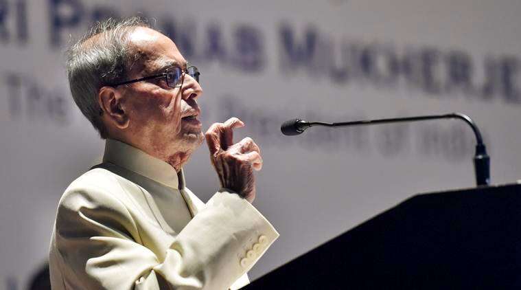 Pranab Mukherjee, social media, journalism, fake news, Raja Ram Mohan roy, Indian history, pranab mukherjee on social media, pranab mukherjee social media comment, Indian Express