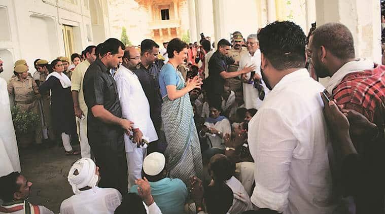 Lucknow, Lucknow news, Priyanka Gandhi, Priyanka Gandhi Sonbhadra killings, Sonbhadra killings, Sonbhadra, Sonbhadra Priyanka Gandhi, Sonbhadra news, Indian Express