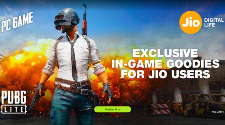 Reliance Jio partners with PUBG Lite to offer customers free skins