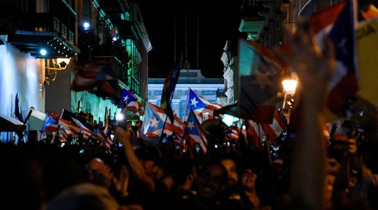 Euphoria in Puerto Rico as mass protests force governor to resign