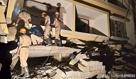 Pulkeshi-Nagar-building-collapse-Bengaluru-Bangalore