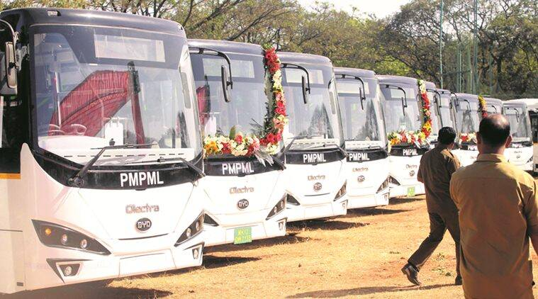 Pune: In a single day, 2 PMPML buses go up in flames in Hinjewadi; no casualties