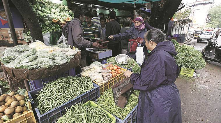 pune monsoon, pune rains, monsoon in pune, rains in pune, pune vegetable prices, pune vegetable markets, india news, Indian Express