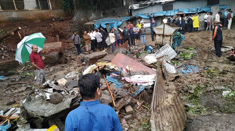 Pune wall collapse, Ambegaon wall collapse, Pune municipal corporation, PMC, labourers killed in pune wall collapse,city news, indian express