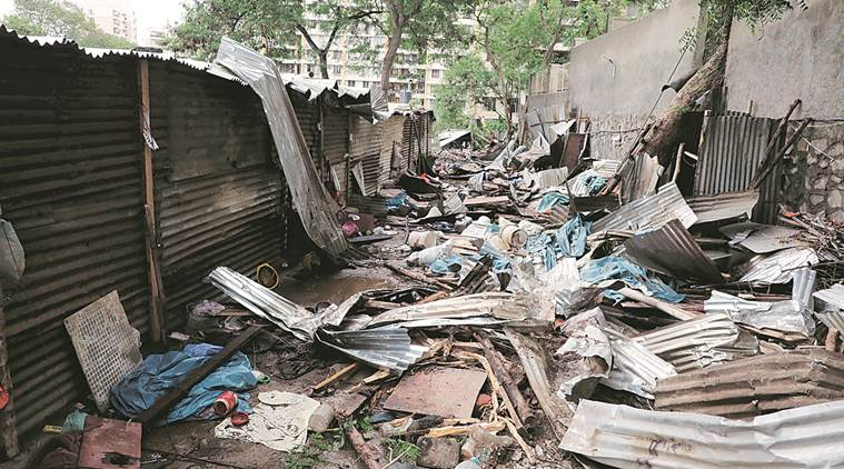 Pune wall collapse, Shrikant Gabale, research on causes behind wall collapse, encroachment of natural streams, lack of rules of retaining walls, city news, indian express