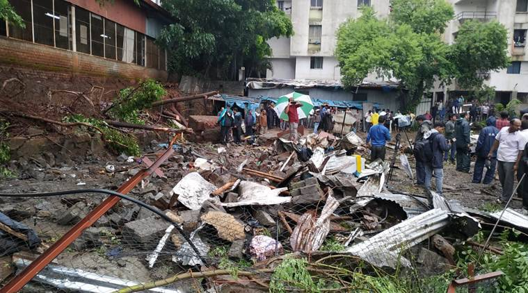 Pune: Incessant rain causes wall collapse in Ambegaon, six labourers killed