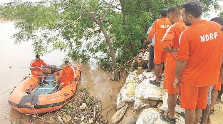 Punjab: Army, NDRF called in to plug 50-ft breach in Ghaggar river