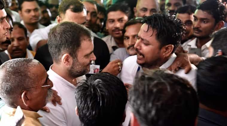 rahul gandhi, rahul gandhi amethi, rahul gandhi amethi visit, amethi, amethi news, uttar pradesh congress, amethi congress, bjp amethi, smriti irani, indian express