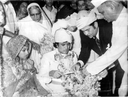 rajesh khanna, dimple kapadia, wedding, wedding ceremony, indian express