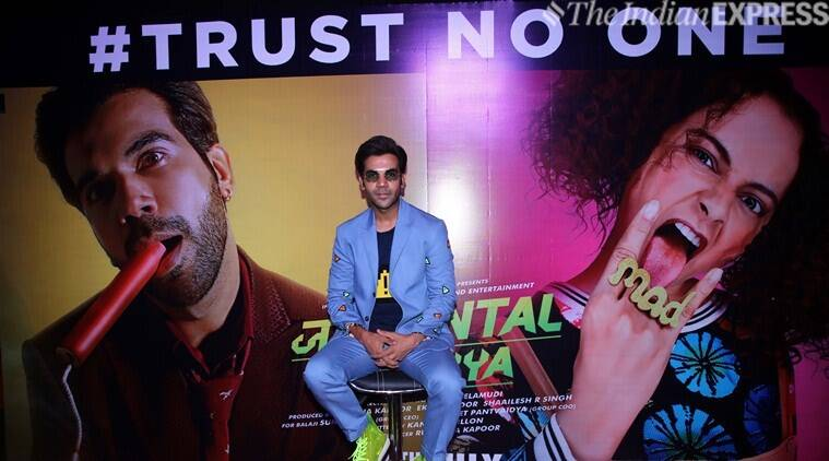 Rajkummar Rao launched the trailer of Judgemental Hai Kya