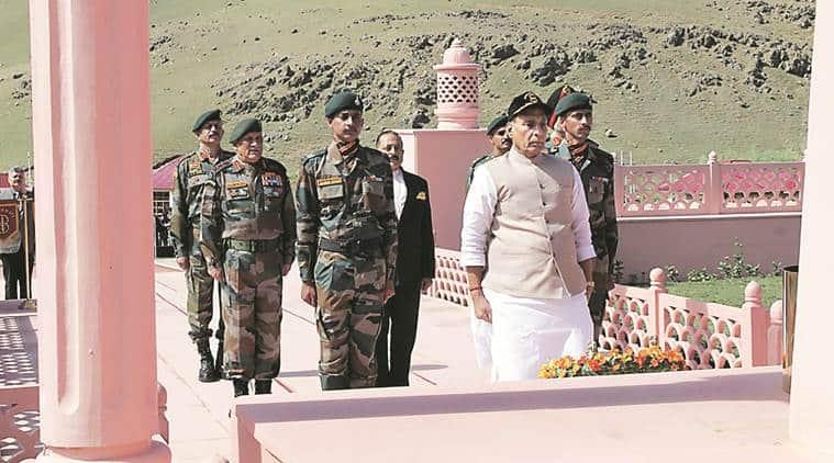 rajnath singh, defence minister rajnath singh, kargil war, kargil war 20 years, kargil war martyrs, kargil war soldiers,