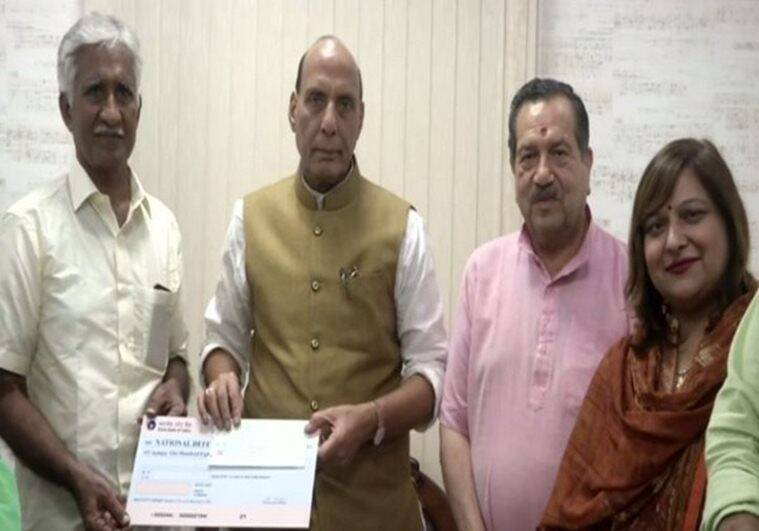 Retired IAF airman donates Rs 1.08 crore to Defence Ministry